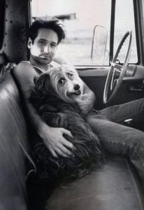 David Duchovny and Blue