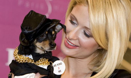 Paris Hilton and Tinkerbell