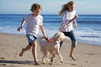 Children-Dog