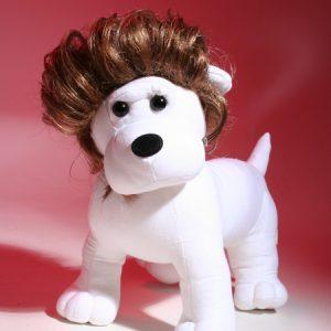 elvis dog wig
