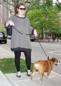 Adele+Out+Walking+Dog+New+York