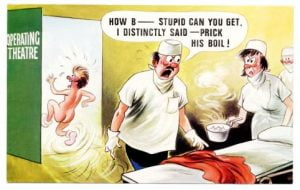 Prick His Boil!